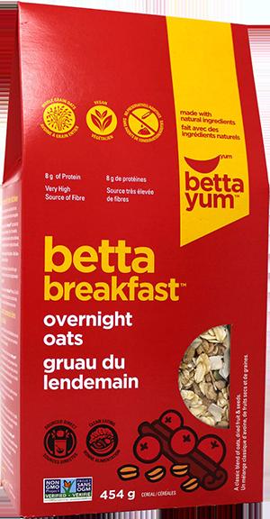 Betta Overnight Oats